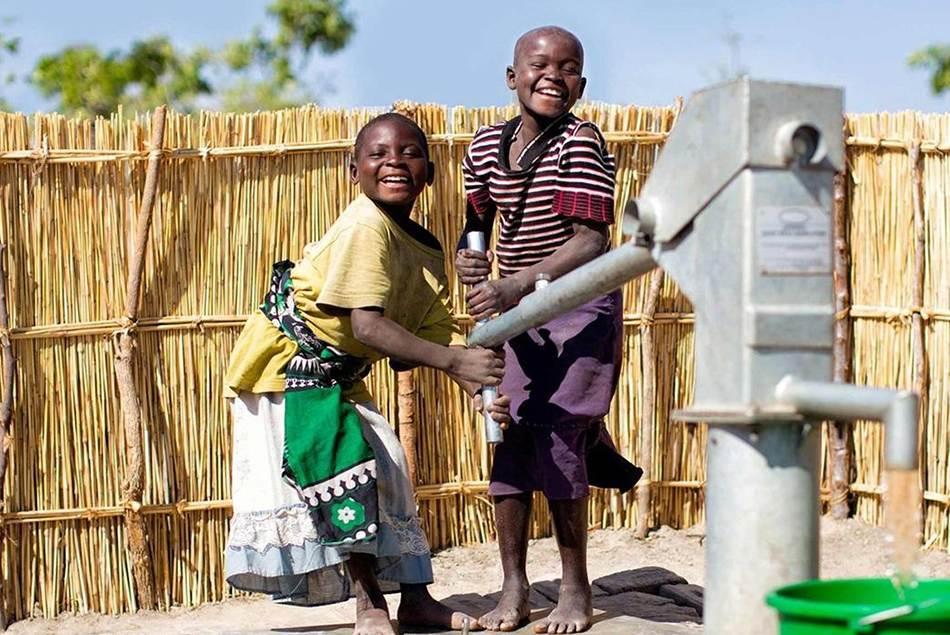 Charity build school for poor children